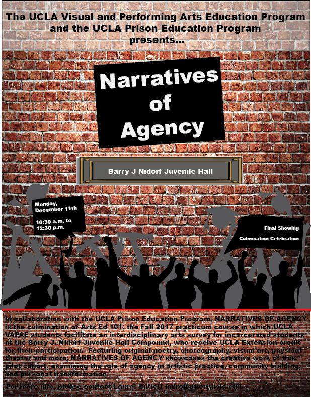 photo: narratives of agency flyer