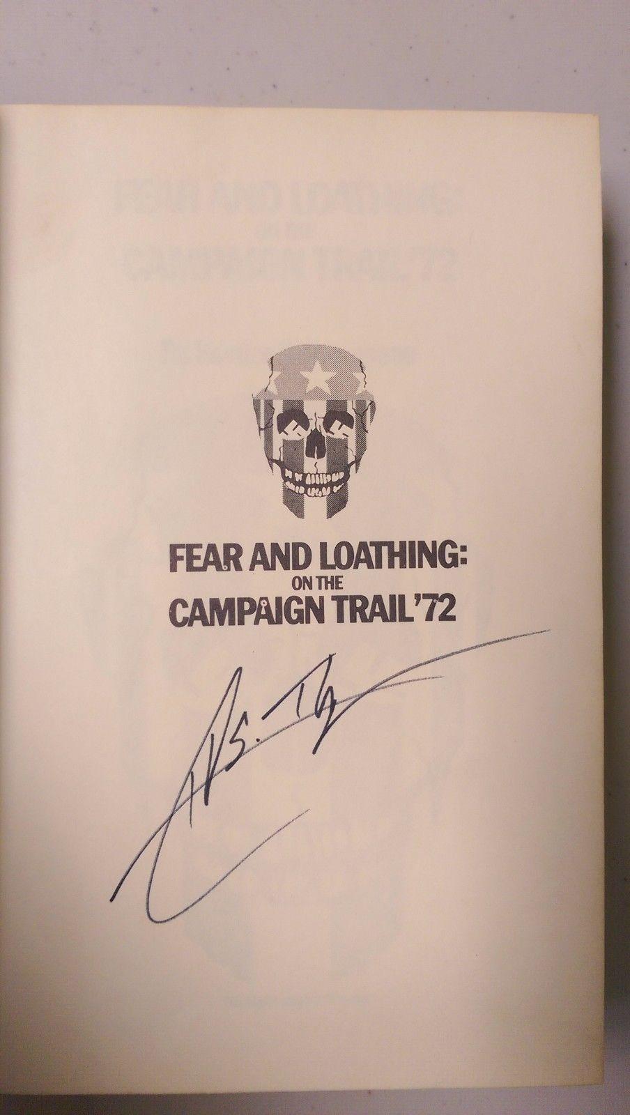 Hunter S. Thompson Signature
