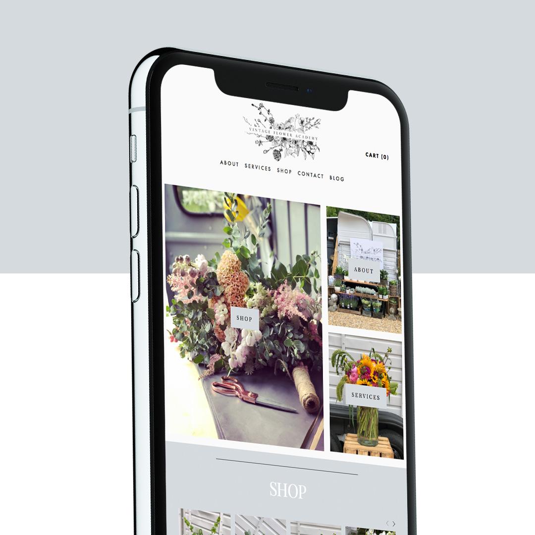 Vintage flower academy