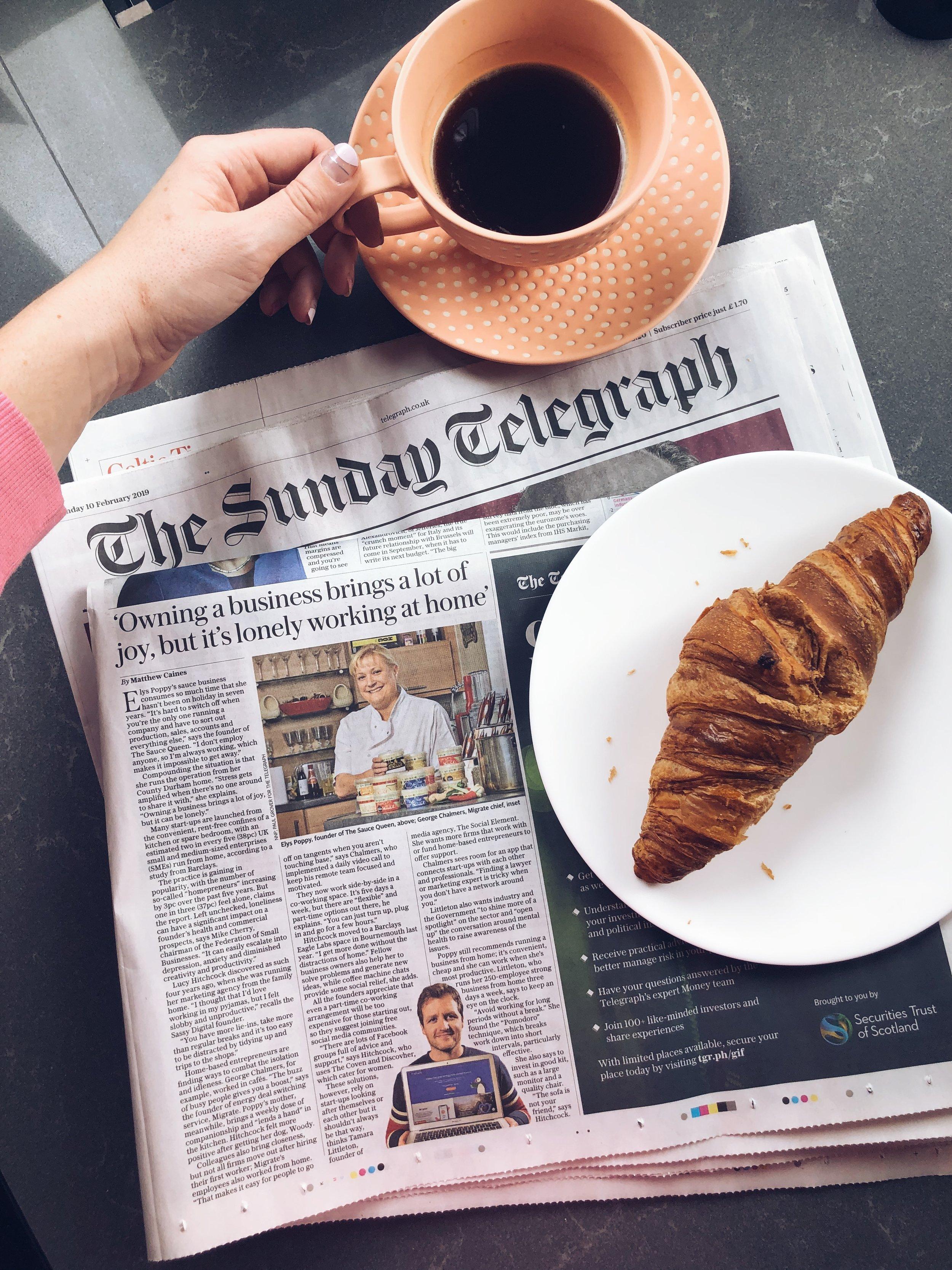 Sassy Digital The Sunday Telegraph