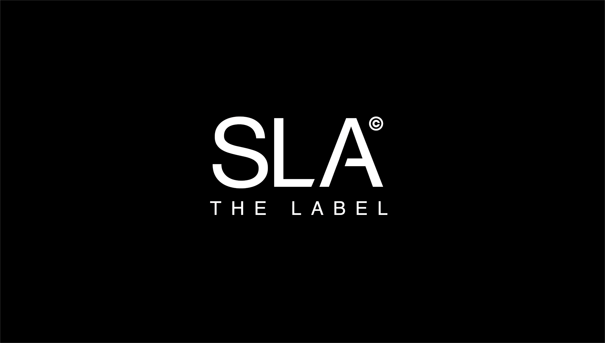 SLA The Label by Sarah Ashcroft Branding