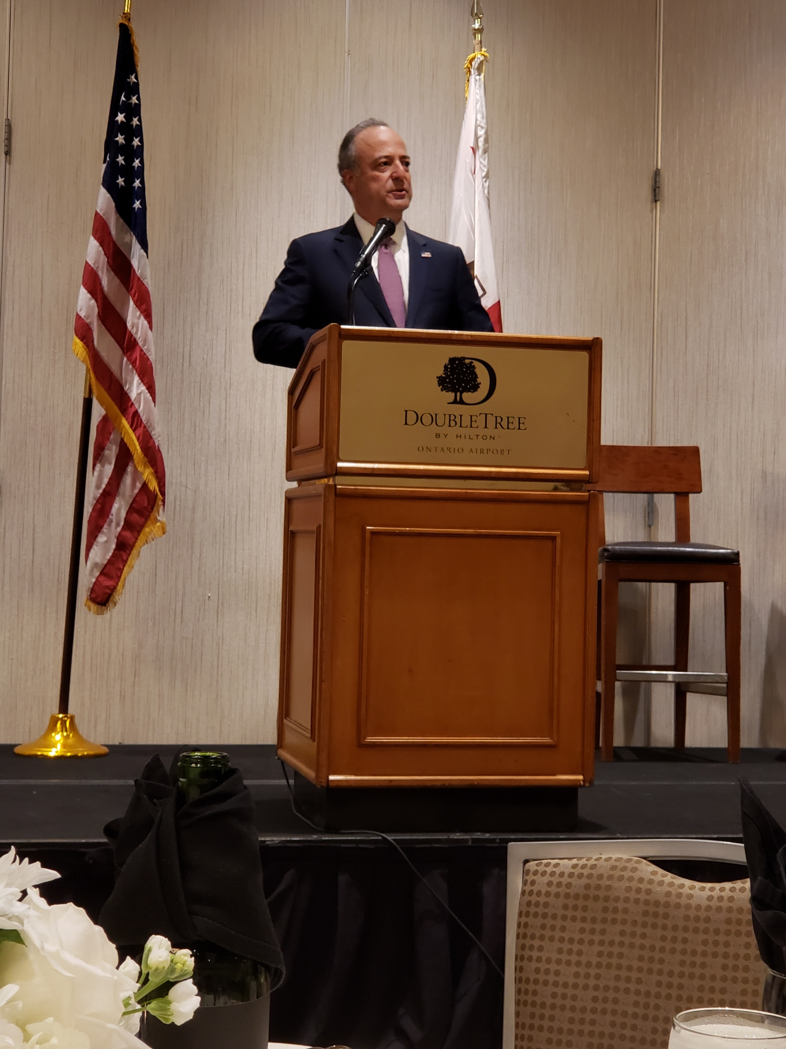Nick Hanna, U.S. Attorney for the Central District of California