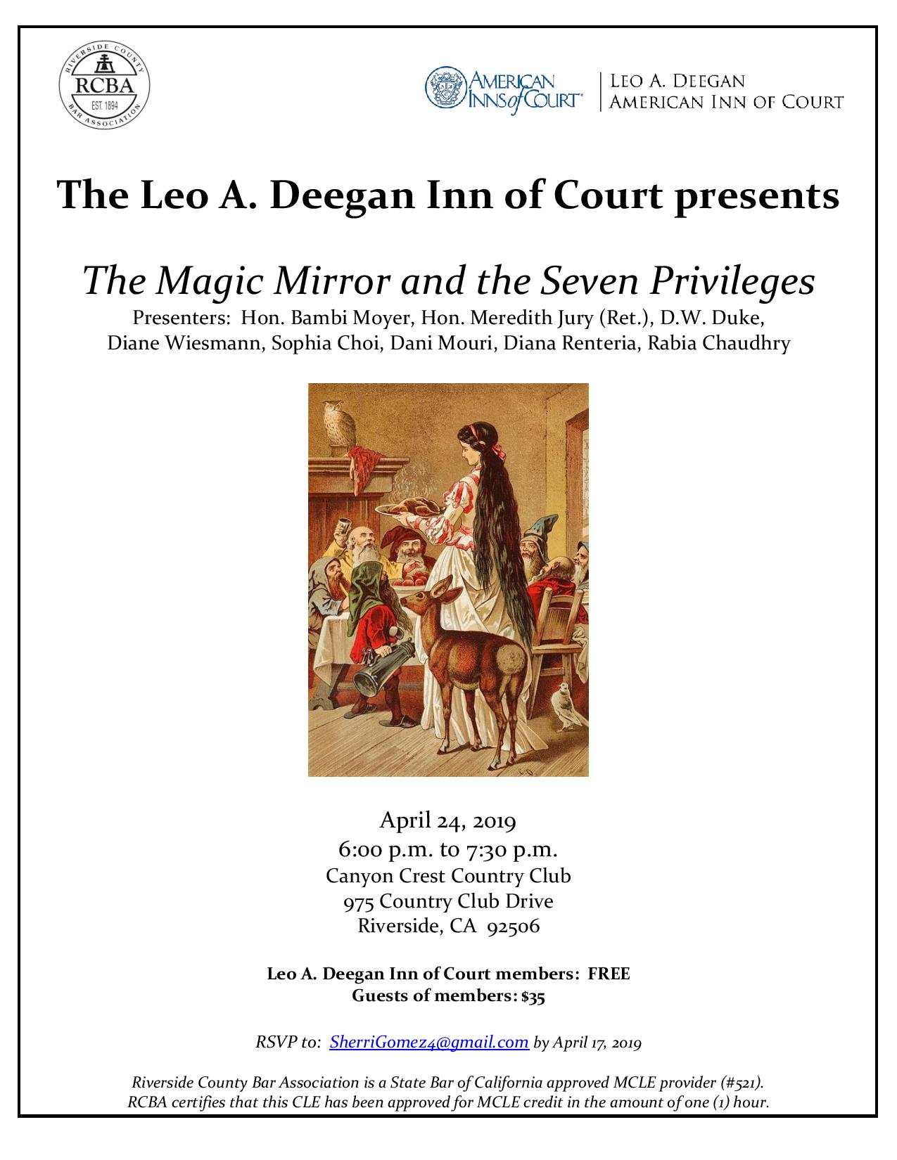 Blog — Deegan Inn of Court
