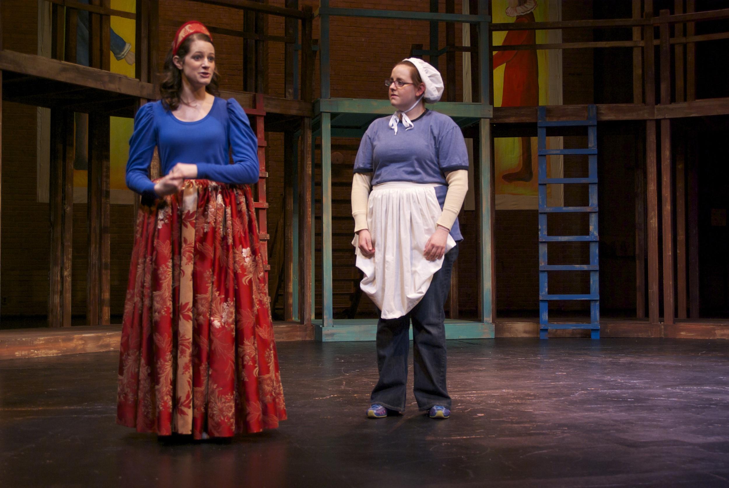 Julia in The Two Gentlemen of Verona
