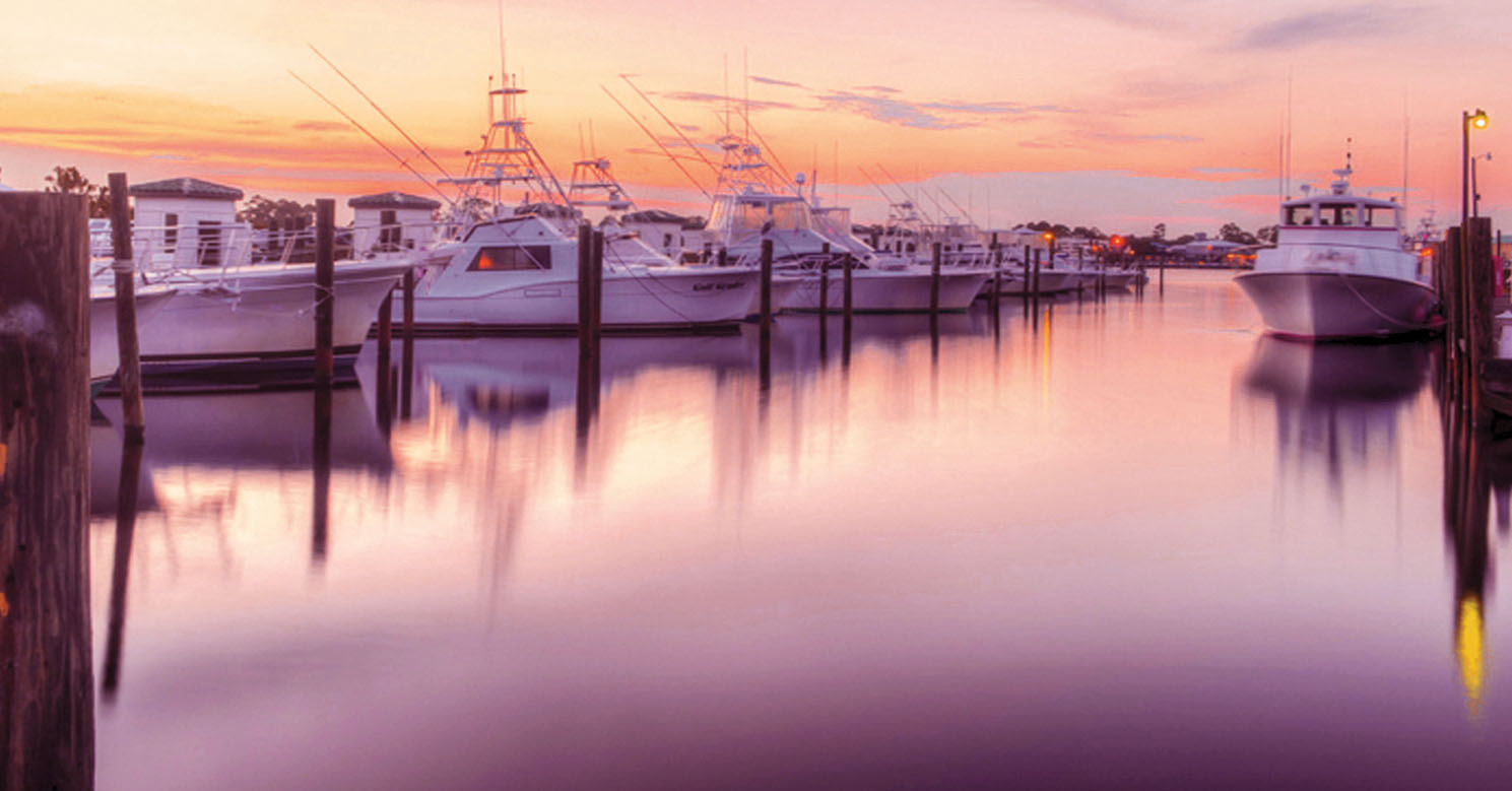 Sunset in Orange Beach