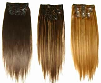100% Pure Luxury Human Clip-in Extensions