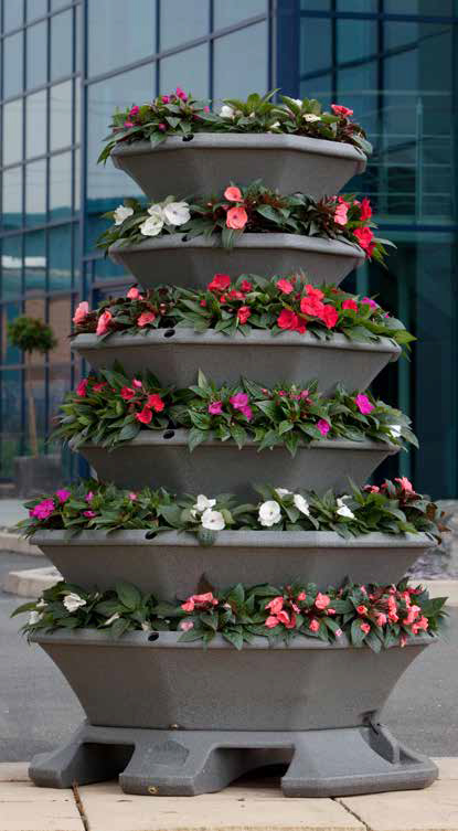 Pagoda Planters -