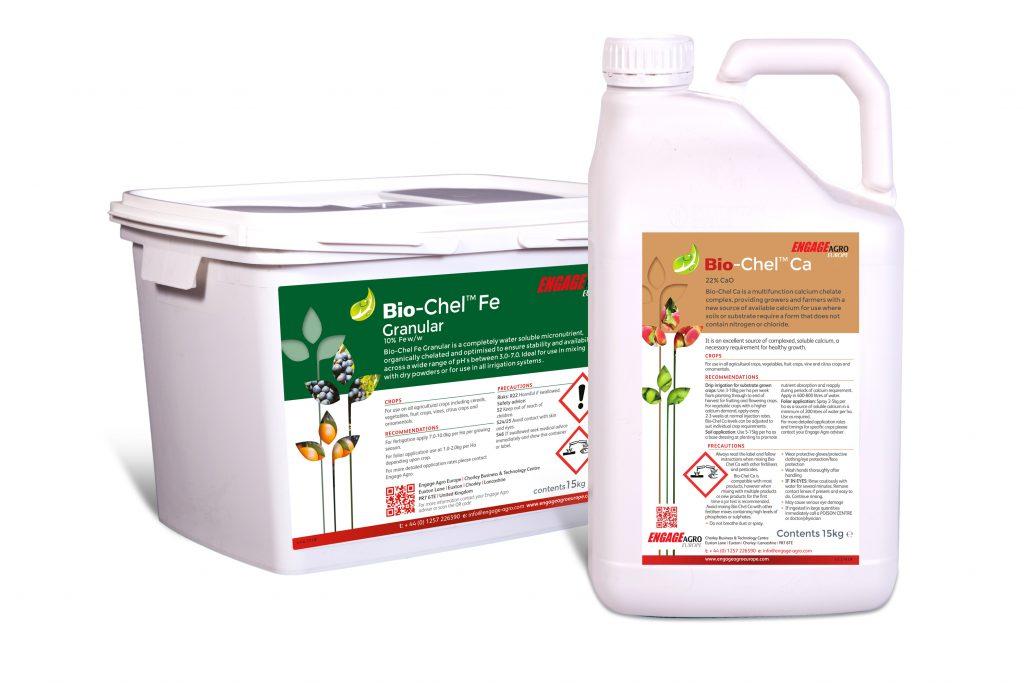 Opti-Chel & Bio-Chel - Water solulable & liquid advanced nutrients for crop health