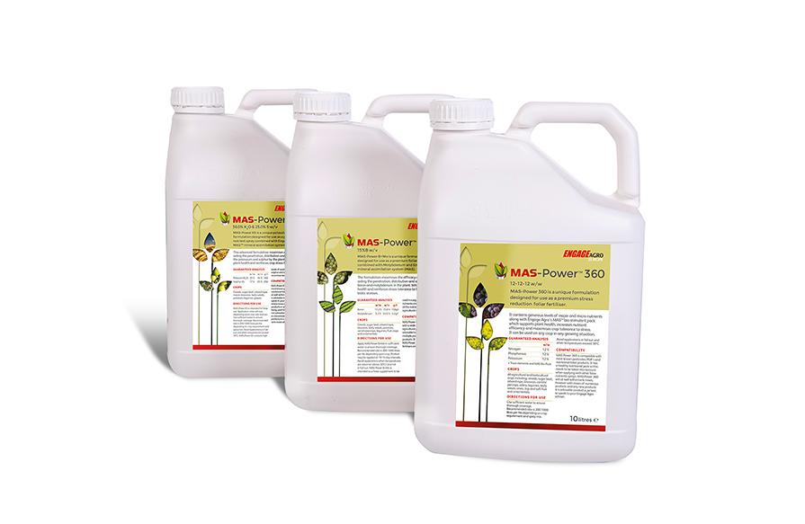 MAS-Power - unique nutrient formulations designed to rapidly address specific nutrient requirements