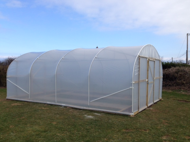 Domestic Polytunnels - Grow your own tunnels are perfect for home growers & gardeners looking to extend their growing season.