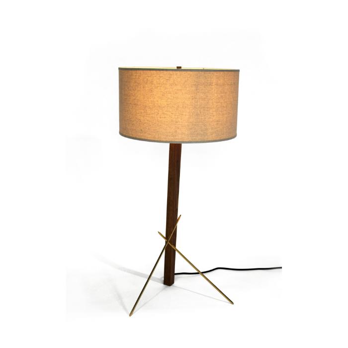 Ludwig and Larsen three point lamp