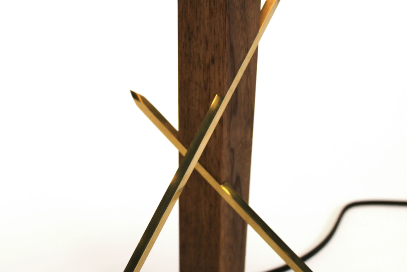 Ludwig and Larsen table lamp #1 detail
