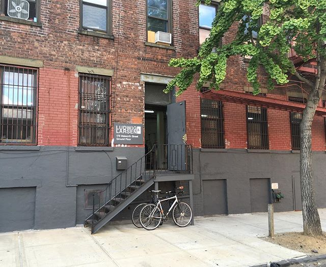 New digs! 178 Walworth st.  Brooklyn, NY 11205 #lightingdesign #madeinbrooklyn #interiordesign