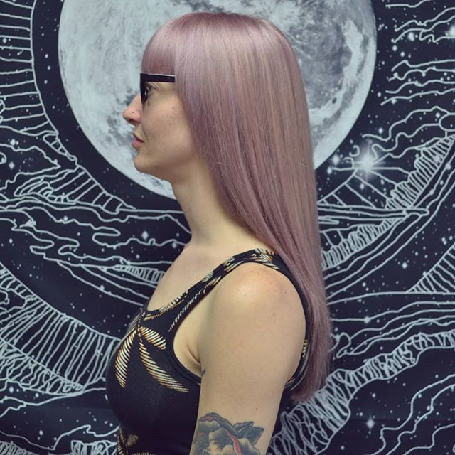 🔮Lilac Moon 🔮 Cut and color by @afuse  #lilachair #atlantapastelhair #thewaywardparlor #summerhill #grantpark #eastpoint #southatlantasalon