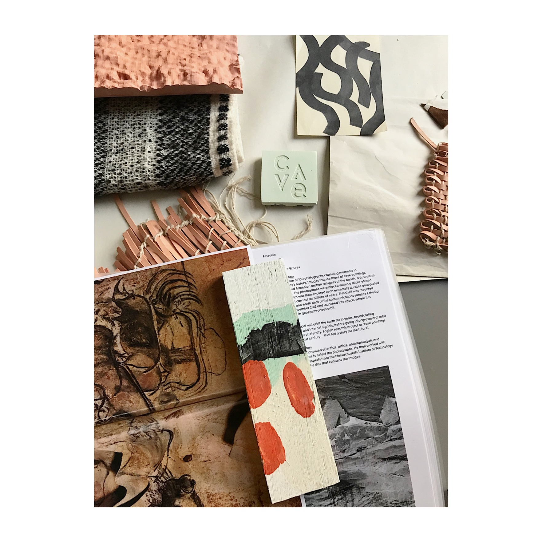 Collection research - Cave Textile Design Studio
