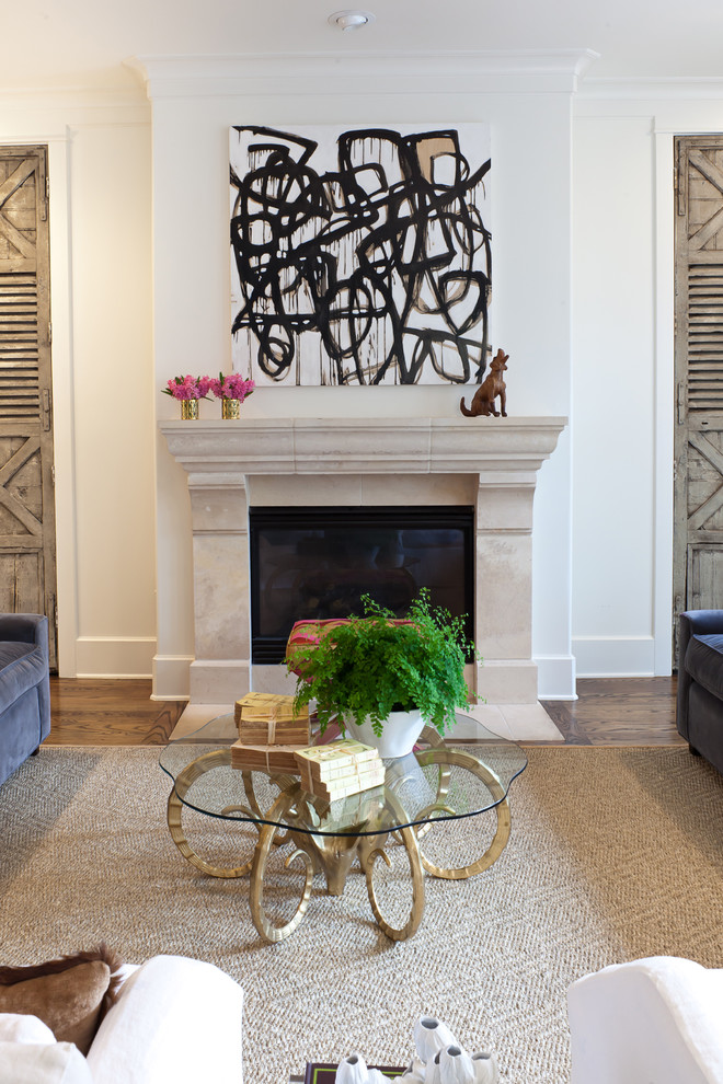 commercial-dehydrator-Family-Room-Transitional-with-abstract-art-amanda-talley-art-beige-rug-black-and-white-artwork-brass.jpg