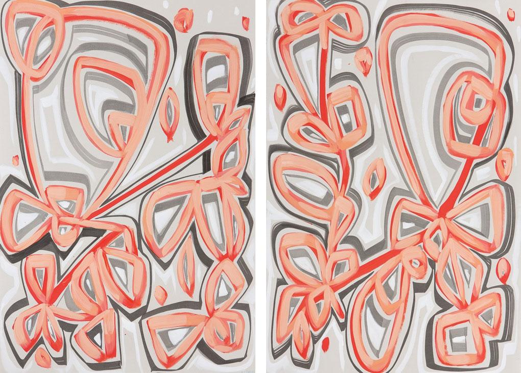 Right Ribbon I & II