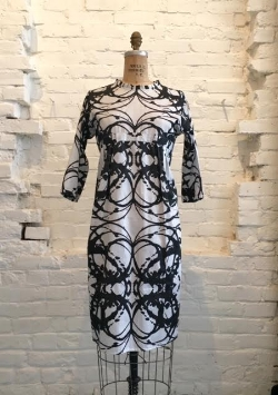 Sugar Magnolia Dress with 3/4 sleeve   $278 through Studio Amanda Talley
