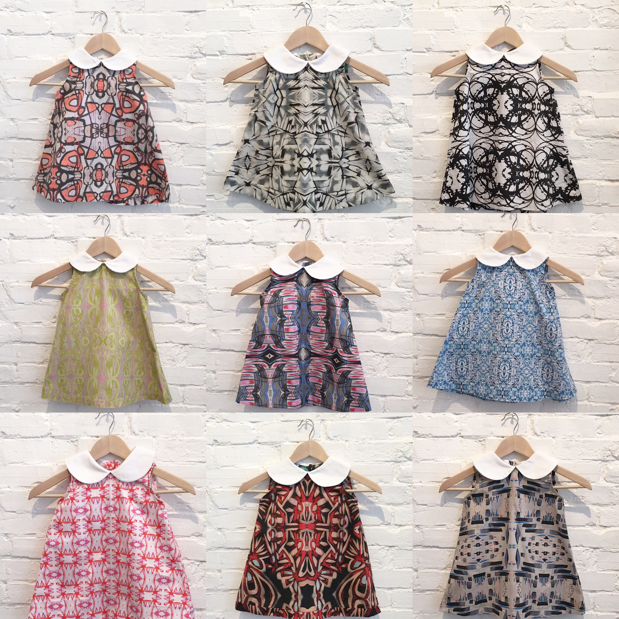 """The """"Lucy"""" dress, available sizes 12-18 months - 8T, $135"""