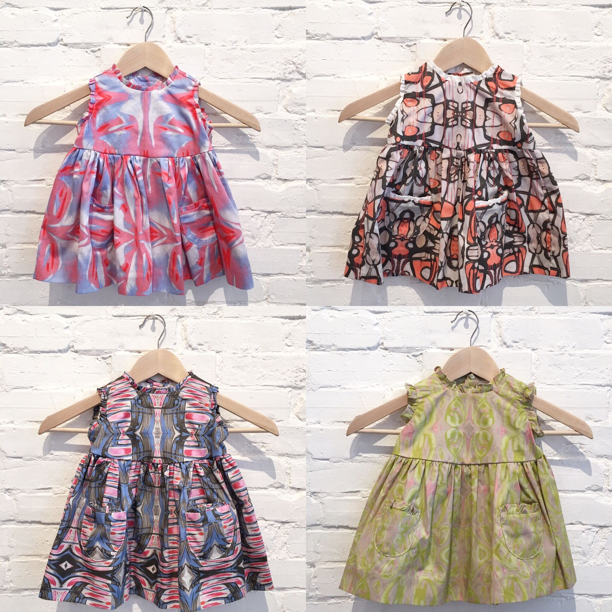 """The """"Hannah"""" dress, available in sizes 12-18 months - 8T, $165"""