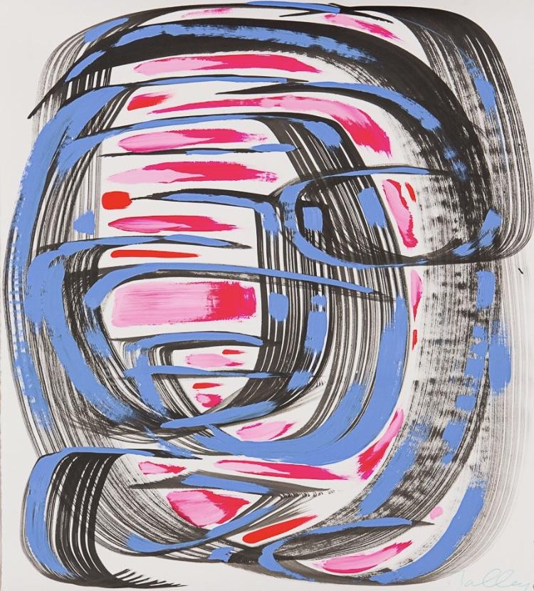 "Amanda's Original work on paper entitled ""Olivia"""
