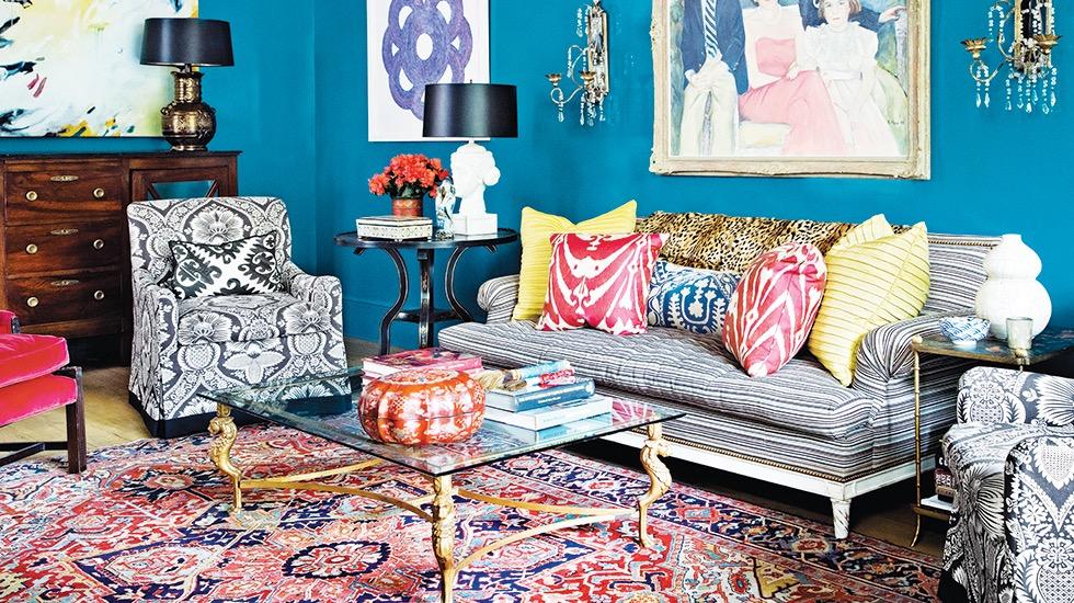 Melissa Rufty is New Orleans' resident pattern-on-pattern specialist