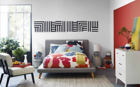 West Elm's take on pattern-play