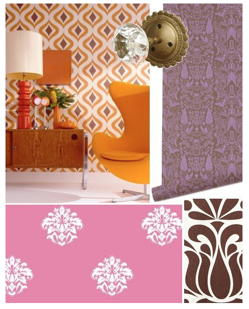 Wallpapers from Design Sponge's under $100 feature
