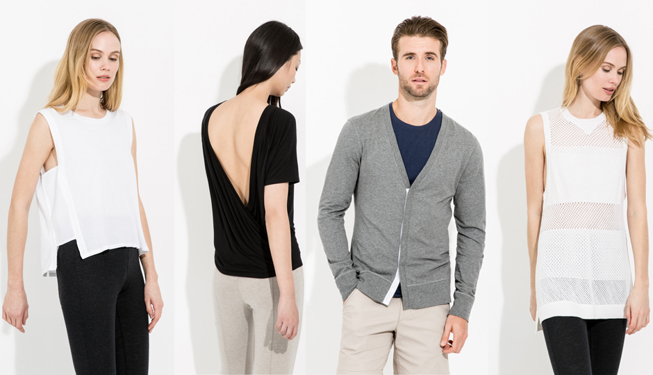 Kit and Ace's technical cashmere pieces combine fashion and comfort in a wearable way.