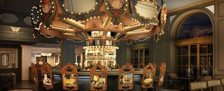 The Carousel Bar at the Hotel Monteleone