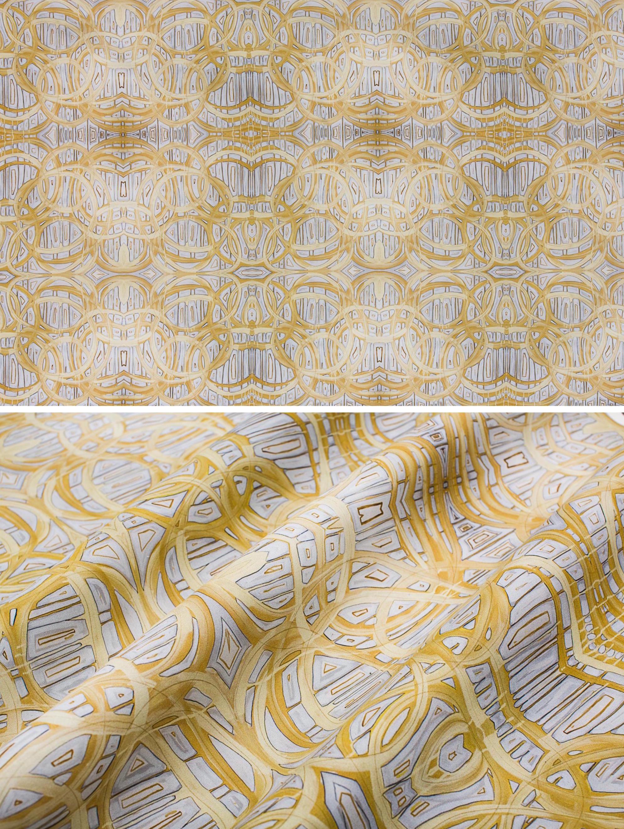 "Broadmoor   Linen Cotton Canvas 36"" x 54"" Repeat is 10.8"" x 12"""
