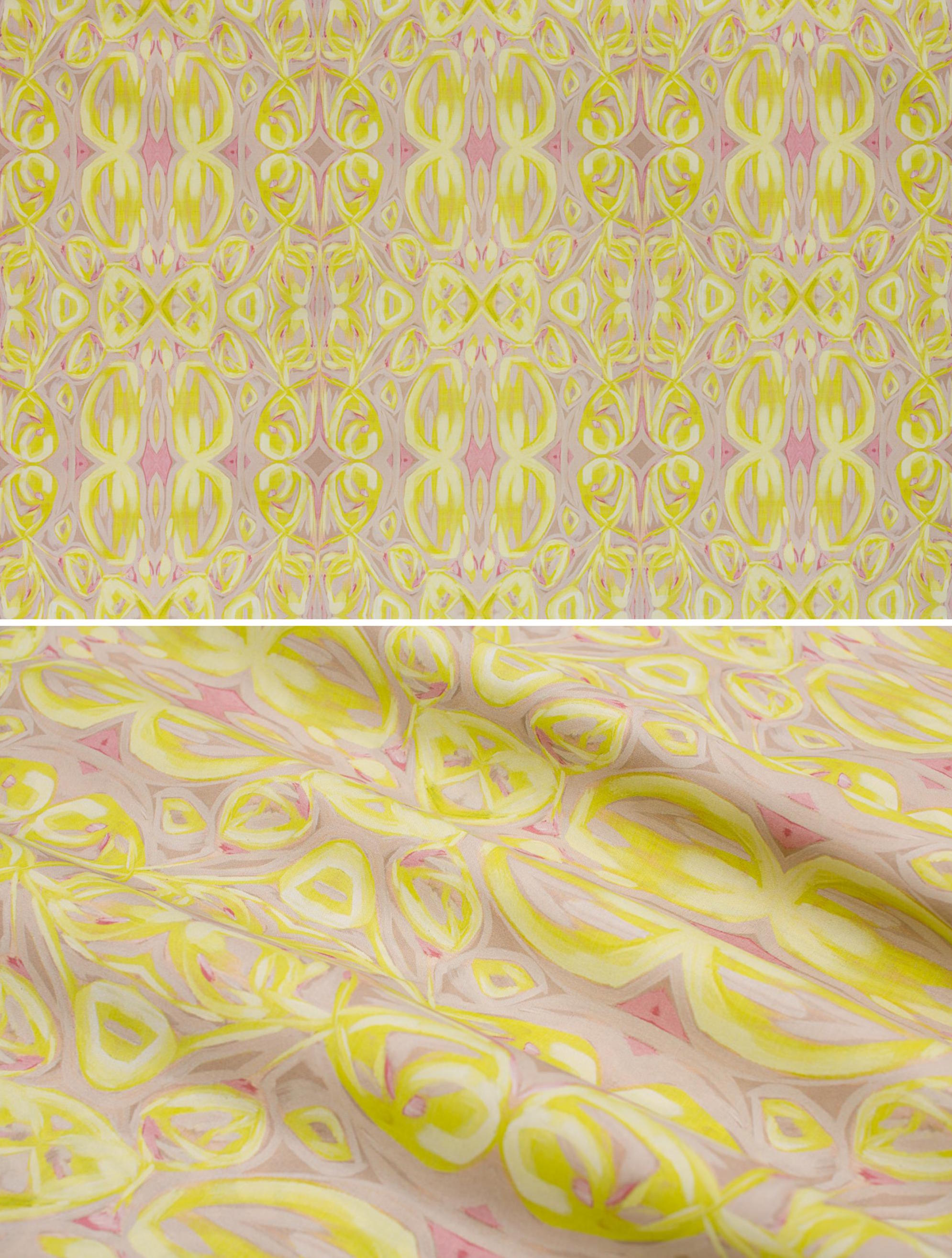 "Moonbeam   Linen Cotton Canvas 36"" x 54"" Repeat is 9.00"" x 8.78"""