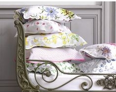 Boudoir pillows from D. Porthault