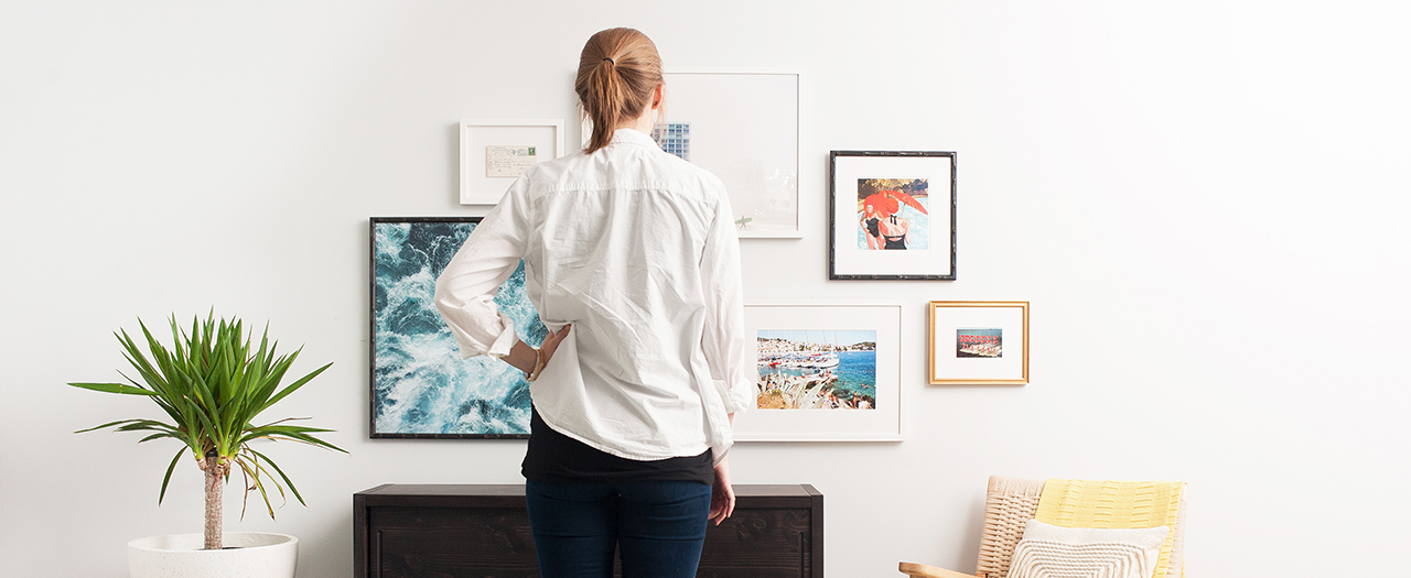 Gallery Wall help and planning with Framebridge