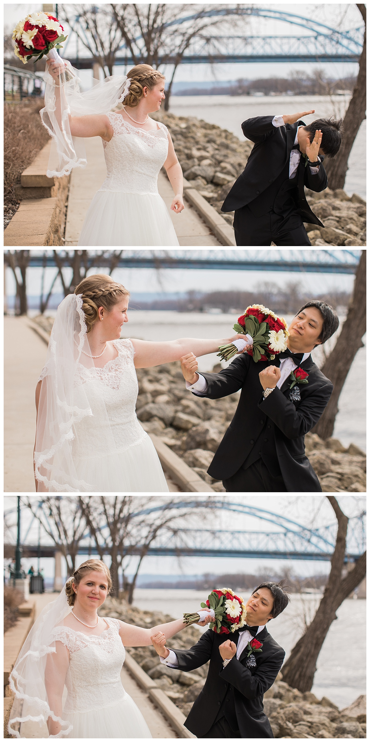 And you have to have some fun photos showing the bride and groom's personality!