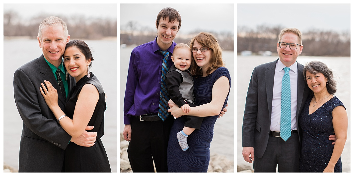 I love getting family photos at weddings! I mean, why not?they're all dressed up!