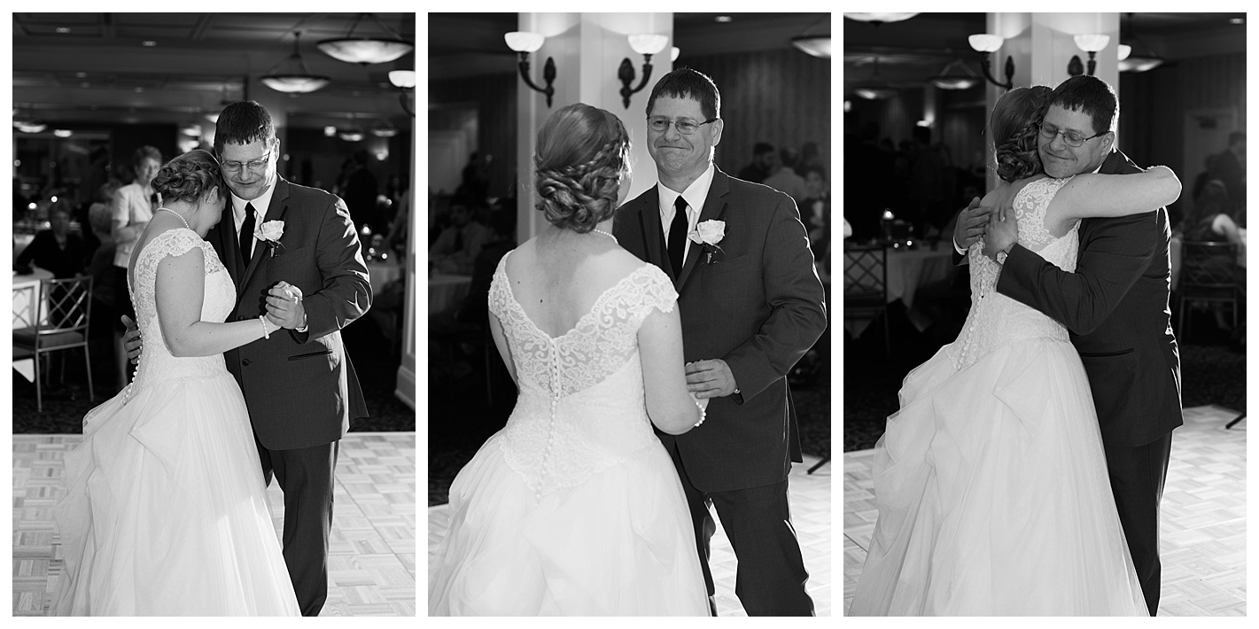 The daddy, daughter dance always pulls at my heartstrings. Such a tender moment.