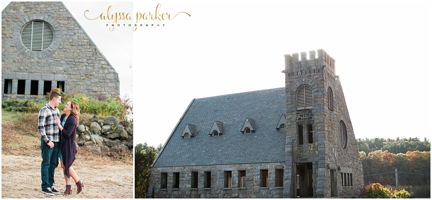 Old Stone Church Engagement Photos