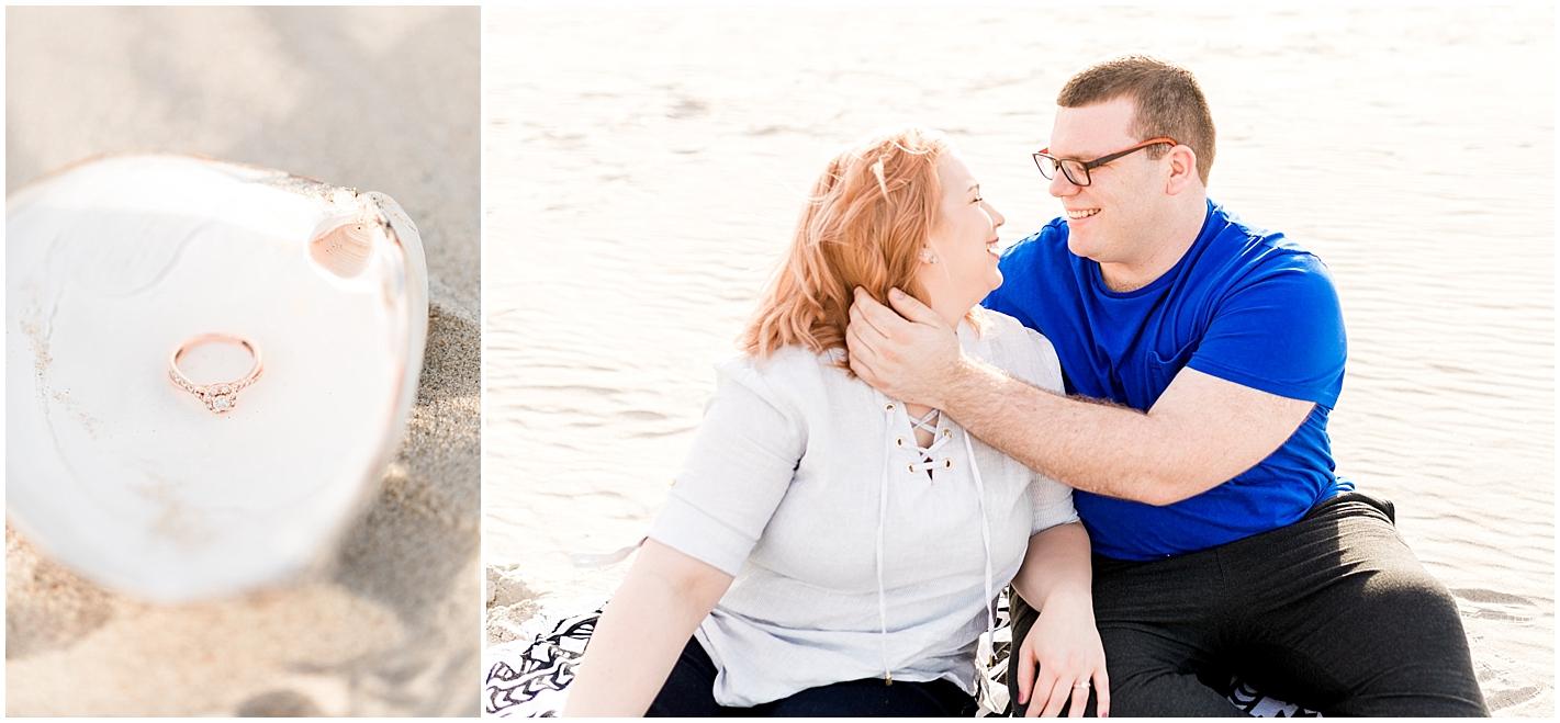 Alyssa Parker Photography Beach engagement photos