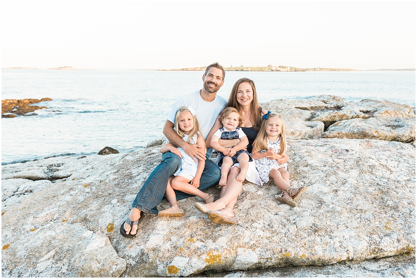 Summer beach family session by Alyssa Parker Photography