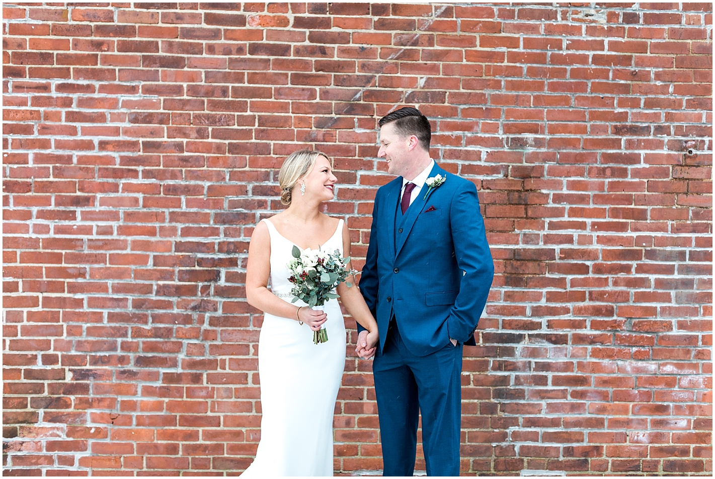Industrial Wedding Portraits by Alyssa Parker Photography