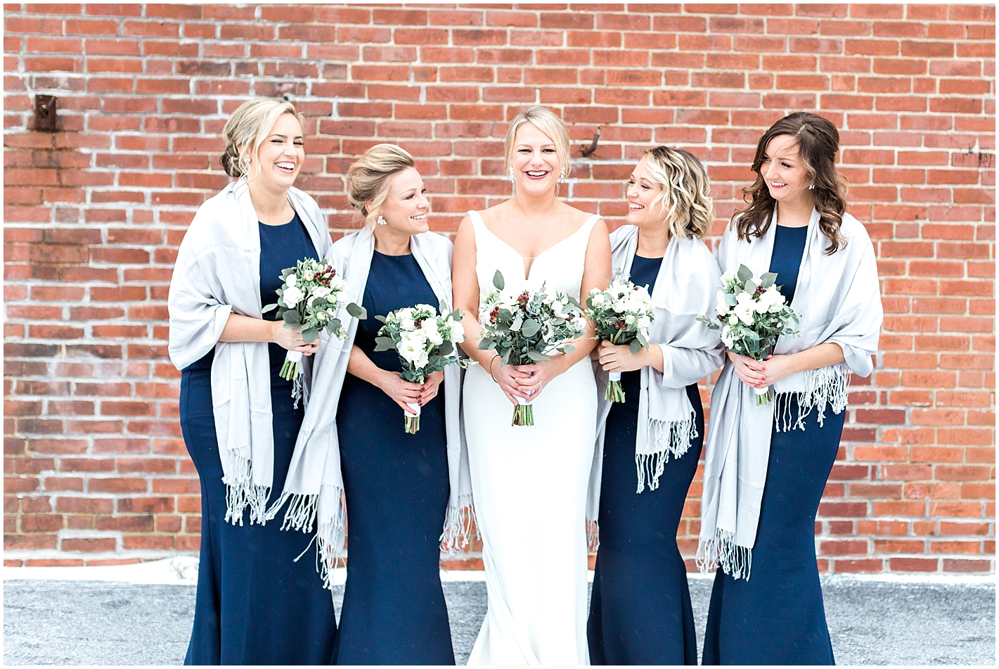 Winter Bridesmaids attire Photo by Alyssa Parker Photography