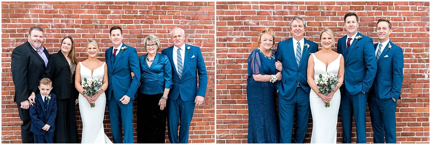 outdoor family wedding Photos by Alyssa Parker Photography