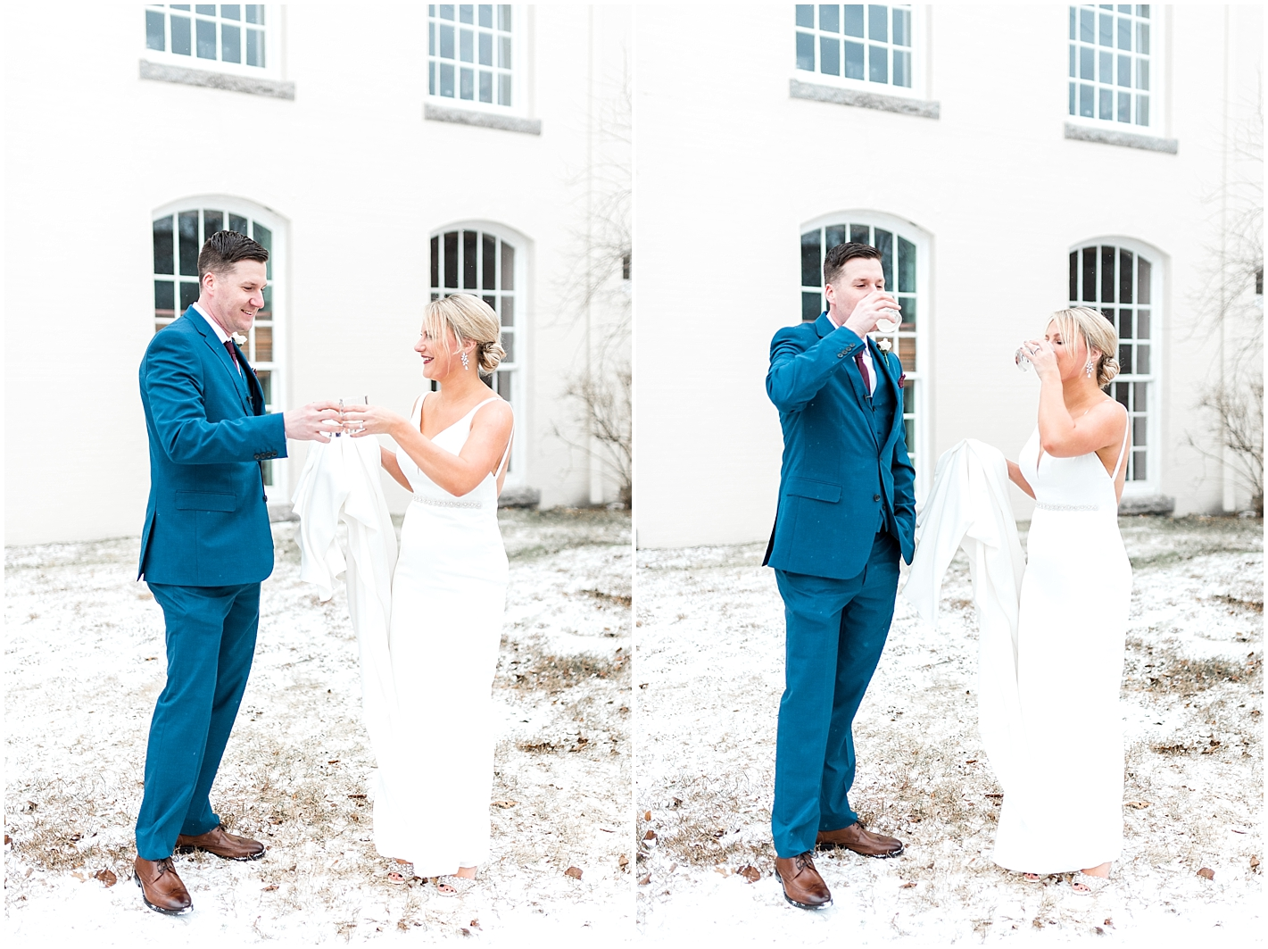 Bride and groom do shot Photo by Alyssa Parker Photography