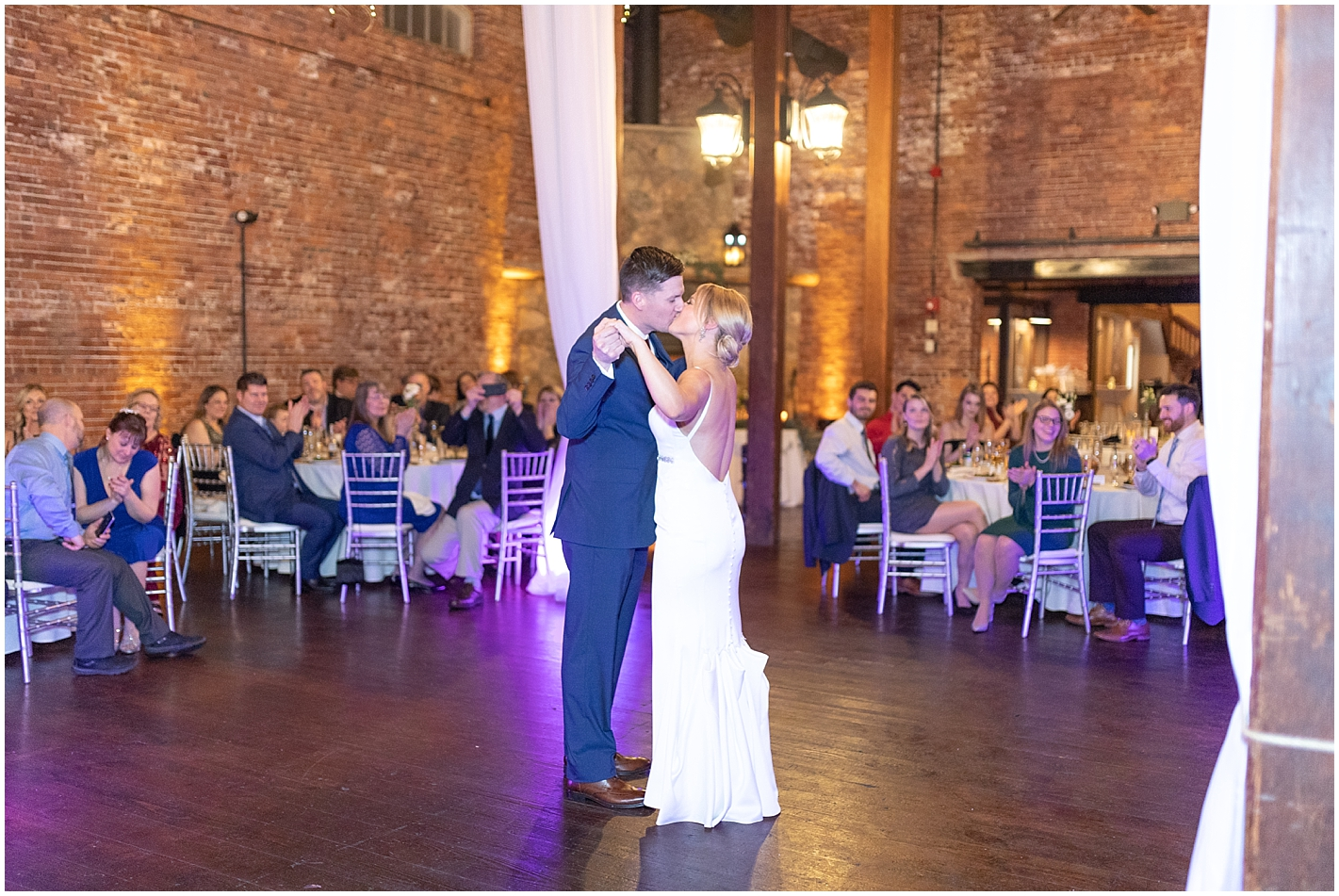 Bride and Groom First Dance Photo by Alyssa Parker Photography