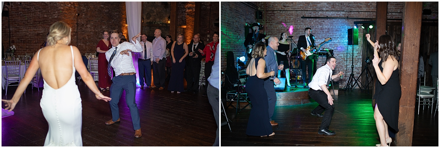 Live Band At wedding reception Photo by Alyssa Parker Photography
