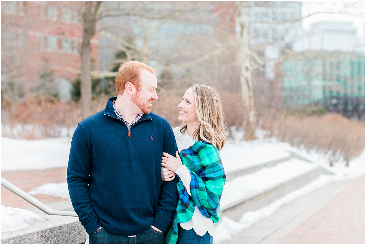 Boston Seaport Engagement Photos by Alyssa Parker Photography