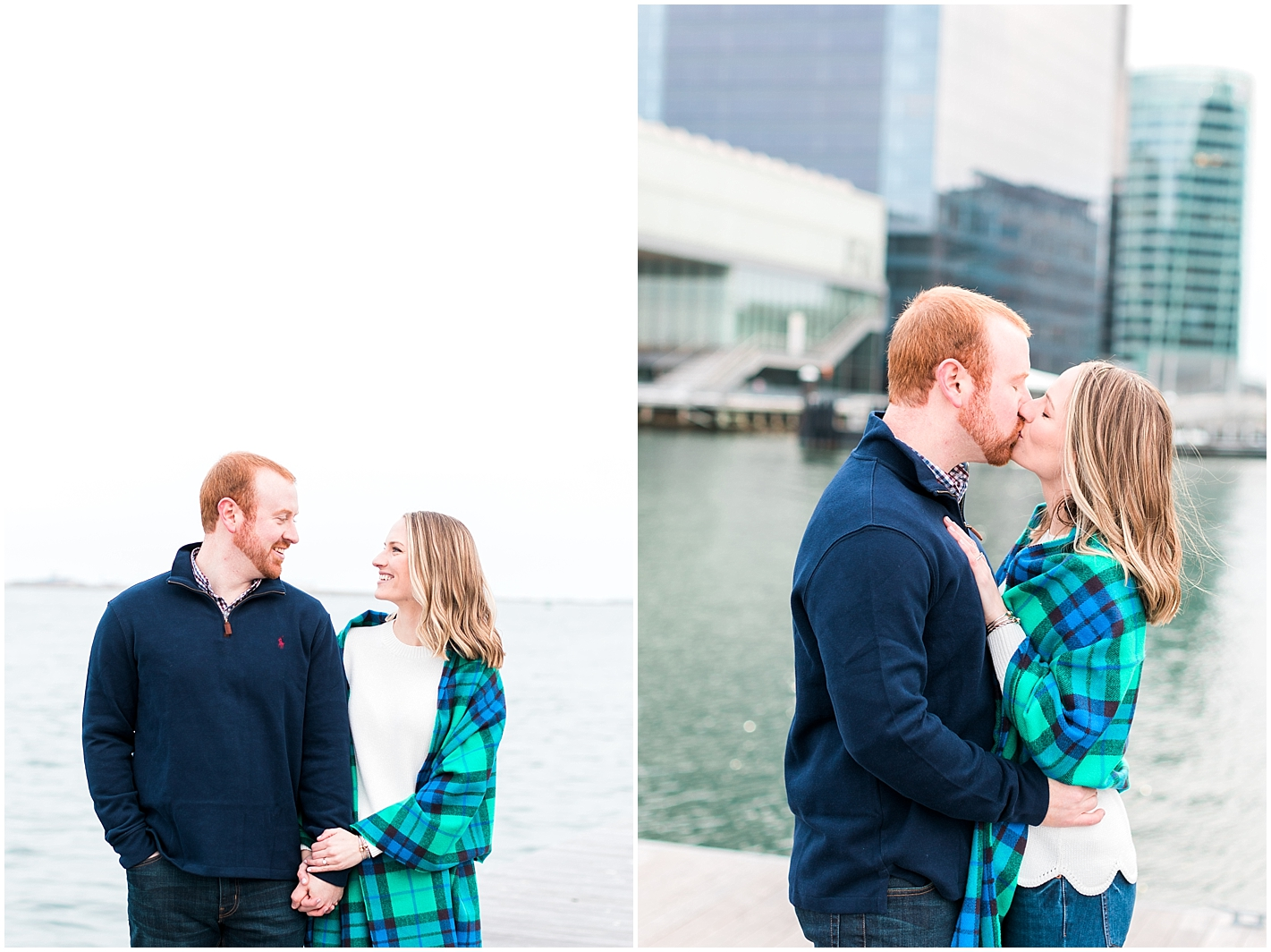 Boston Seaport Engagement Photos by Alyssa Parker Photography