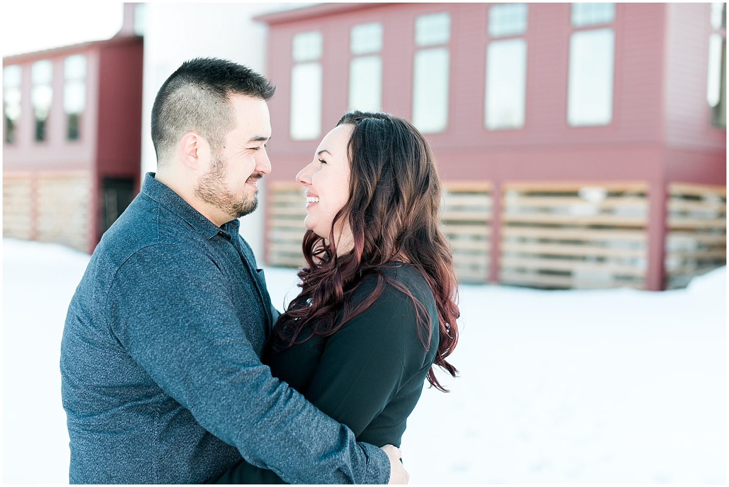 New England Engagement Session Photos by Alyssa Parker Photography