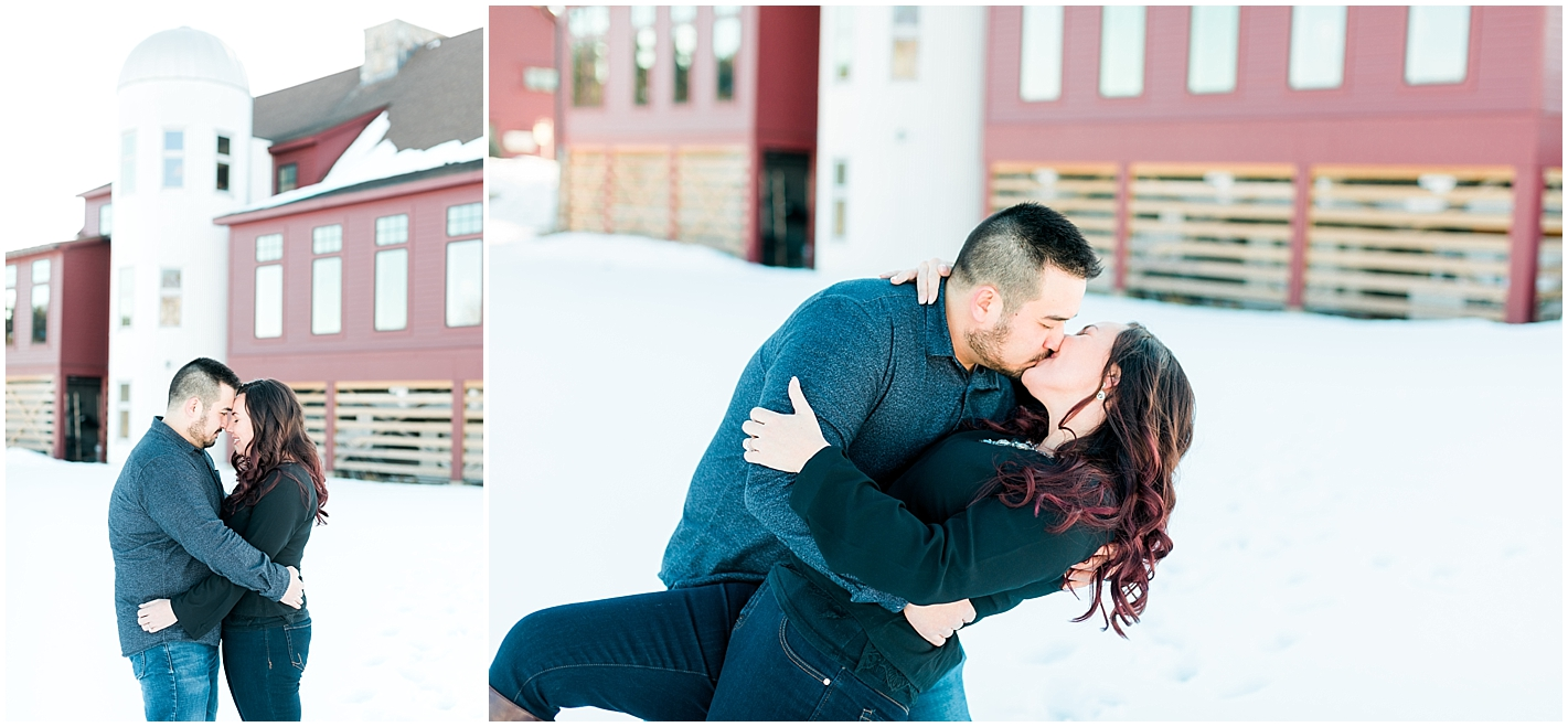 Groton engagement session Photos by Alyssa Parker Photography.